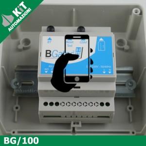 BG/100 Sistema comando automazioni su rete telefonica