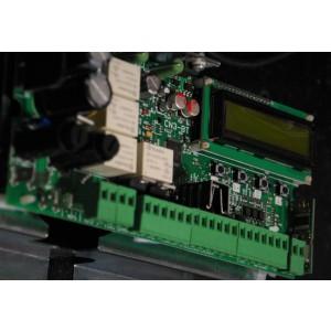 CN3BT Centralina Automazione 12/24V, 2 motori, display configurazione, apprendimento automatico, crono datario