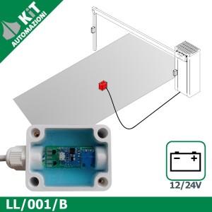 LL/001/B Sensore geomagnetico presenza veicoli 12-24Vcc