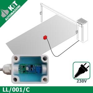 LL/001/C Sensore geomagnetico presenza veicoli 230V