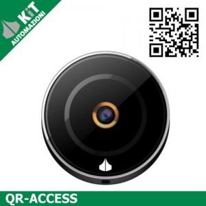 Controllo accessi con QR-Code per esterno (IP65)