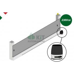 RTN/230V/FC Automazione 230Vca per cancelli scorrevoli fino a 1000Kg - 2 radiocomandi compresi