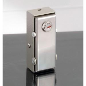 SBLOCCO/1 Sistema di sblocco con serratura per motori automazione. Azionamento esterno con cavo