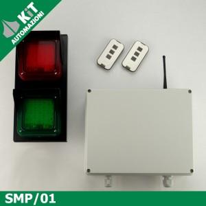 SMP/01 Impianto semaforico controllo flusso di accesso a locale