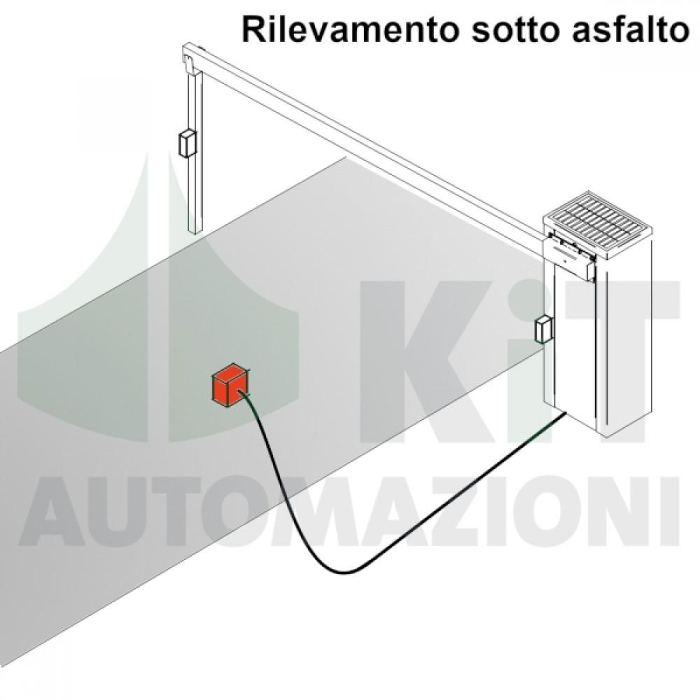 Sensore rilevamento veicoli dal basso