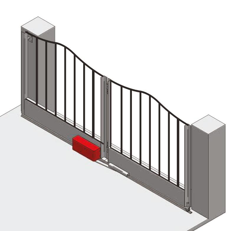 cancello pieghevole