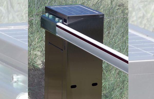 barriera di accesso con telecomando